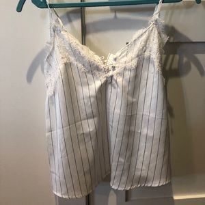 Pin stripe Abercrombie and Fitch camisole